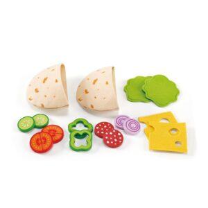 Gevulde Pita Broodjes