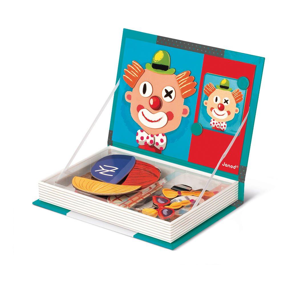 Gezichten Magneetboek Janod