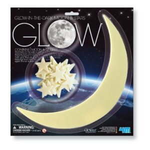 Glow In The Dark Sterren En Maan 4M