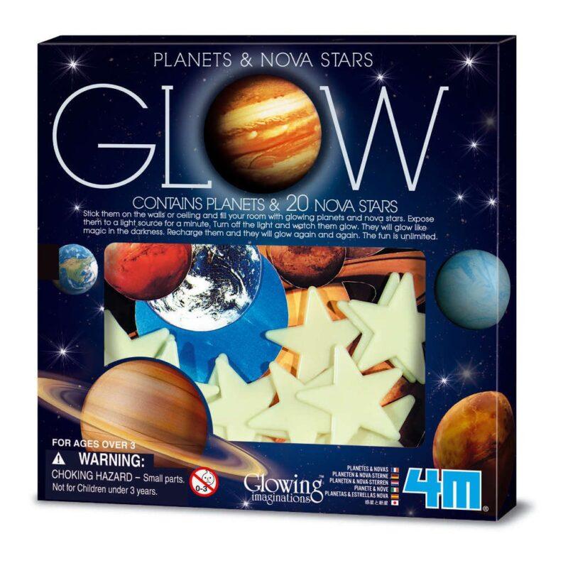 Glow In The Dark Sterren En Planeten 4M