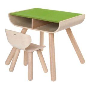 Groene Bureauset Plan Toys