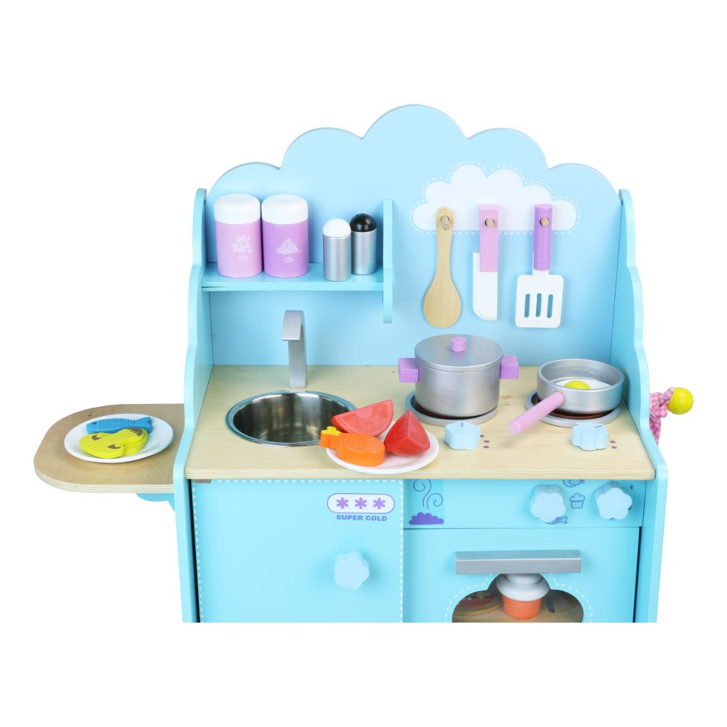 Hemelsblauw Keukentje Vilac