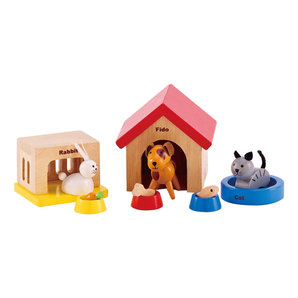 Huisdieren Poppenhuis Hape