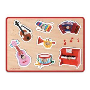 Instrumenten Puzzel Met Muziek Janod