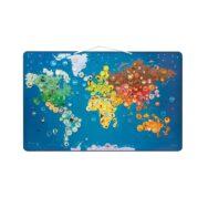Janod Wereldkaart Dieren