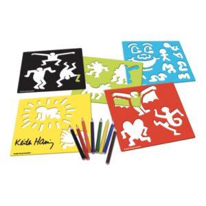 Keith Haring Sjablonen In Koffer