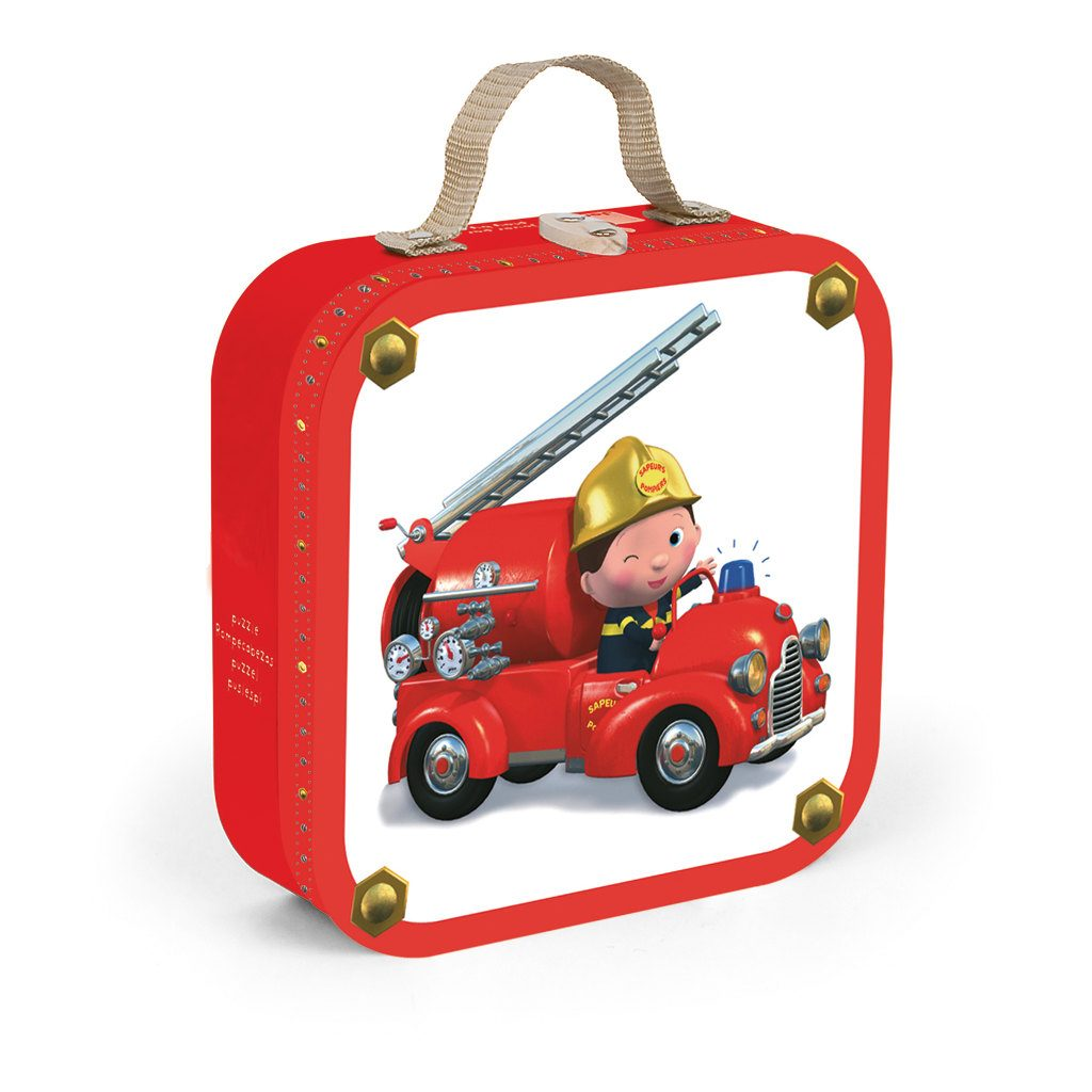 Leon Brandweerwagen Puzzel Janod