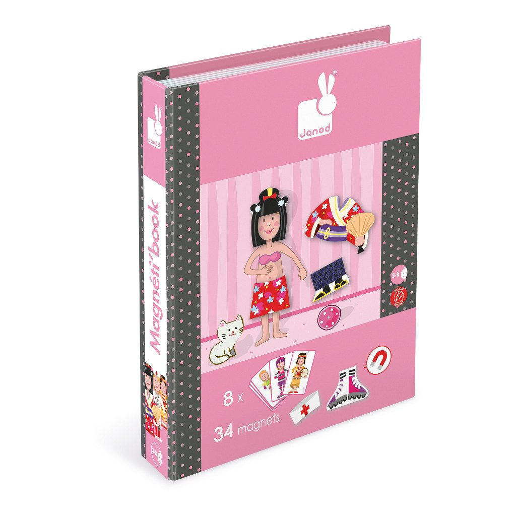 Meisjes Magneetboek Janod