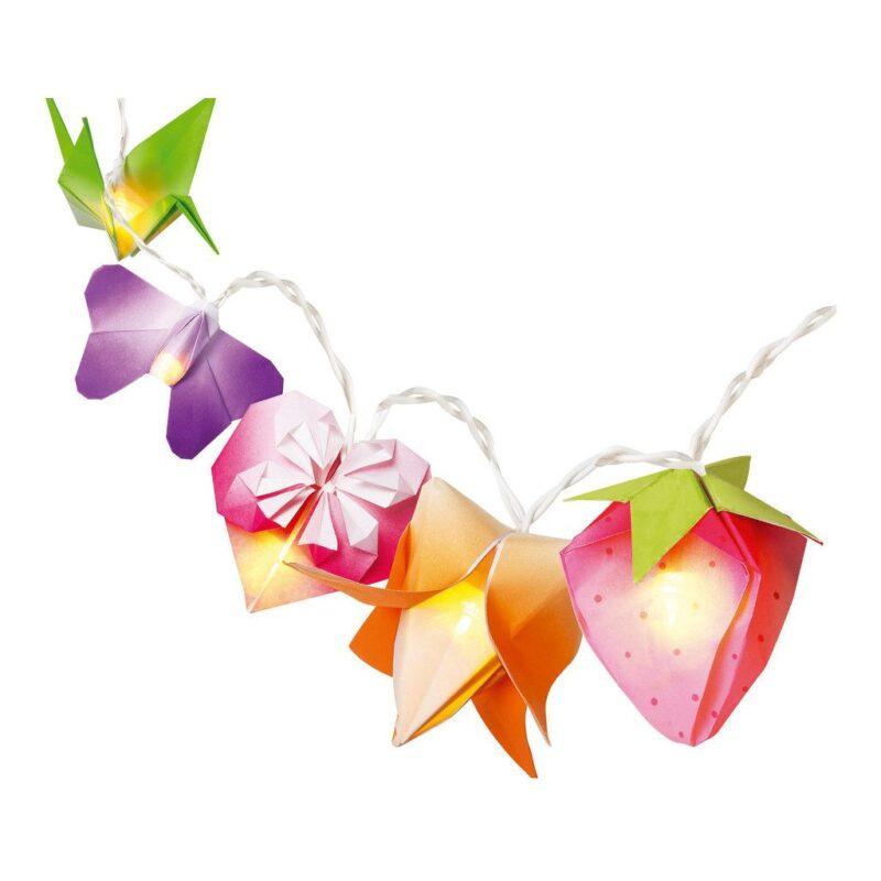 Origami Lichtjes Slinger Maken