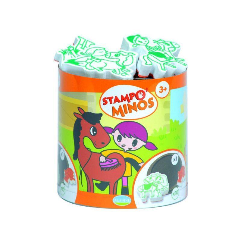 Paarden Stempels Aladine