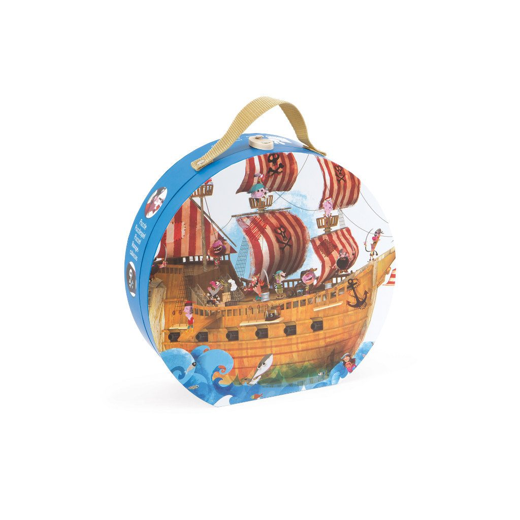 Piratenpuzzel Met Koffer Janod