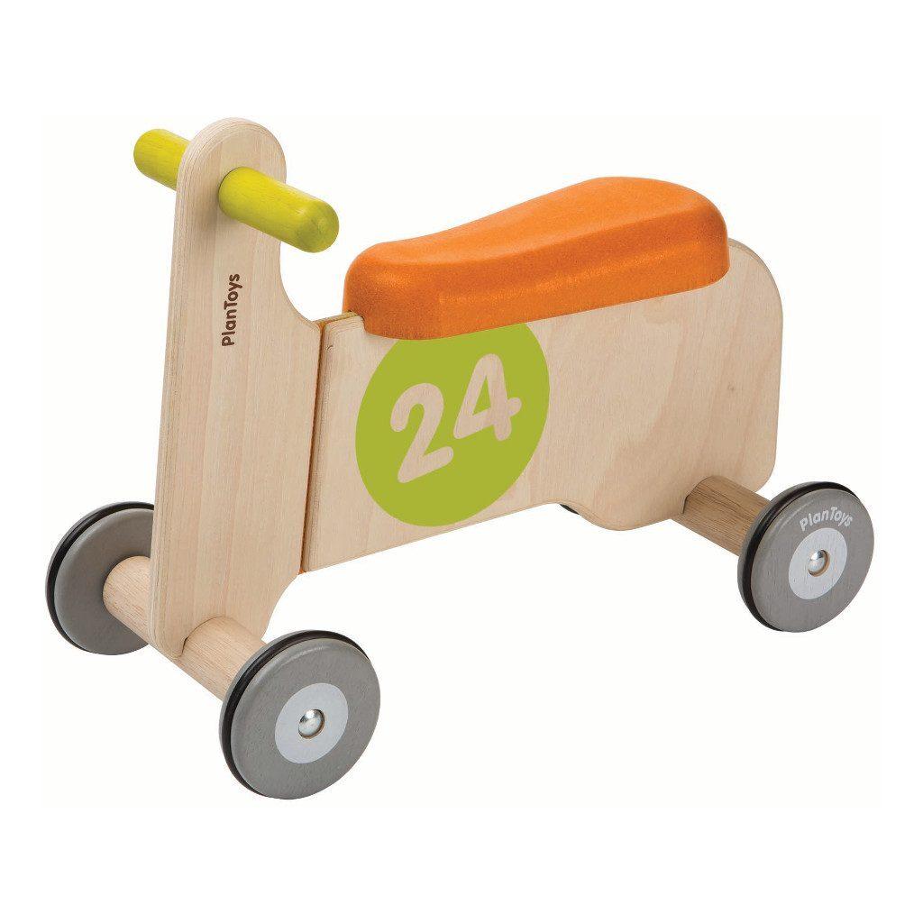 Plan Toys Loopfiets Blauw Rood 1