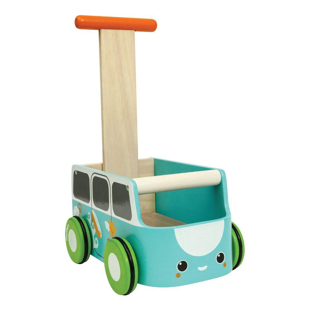 Plan Toys Van Walker Blauw