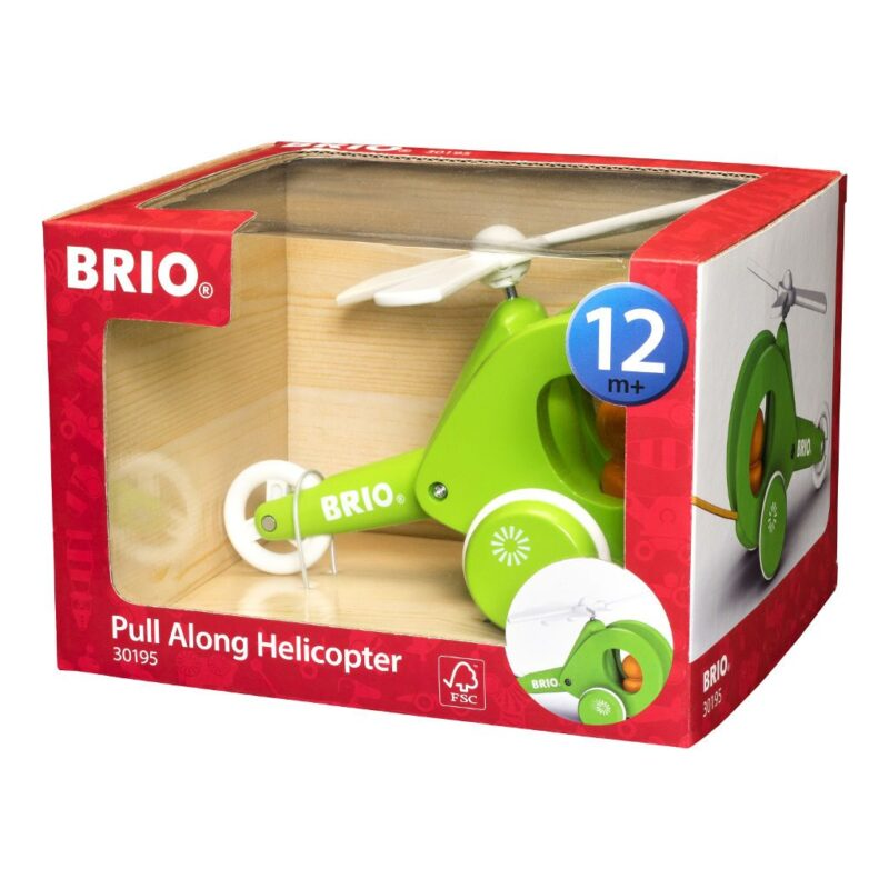 Pull-Along Helicopter Brio