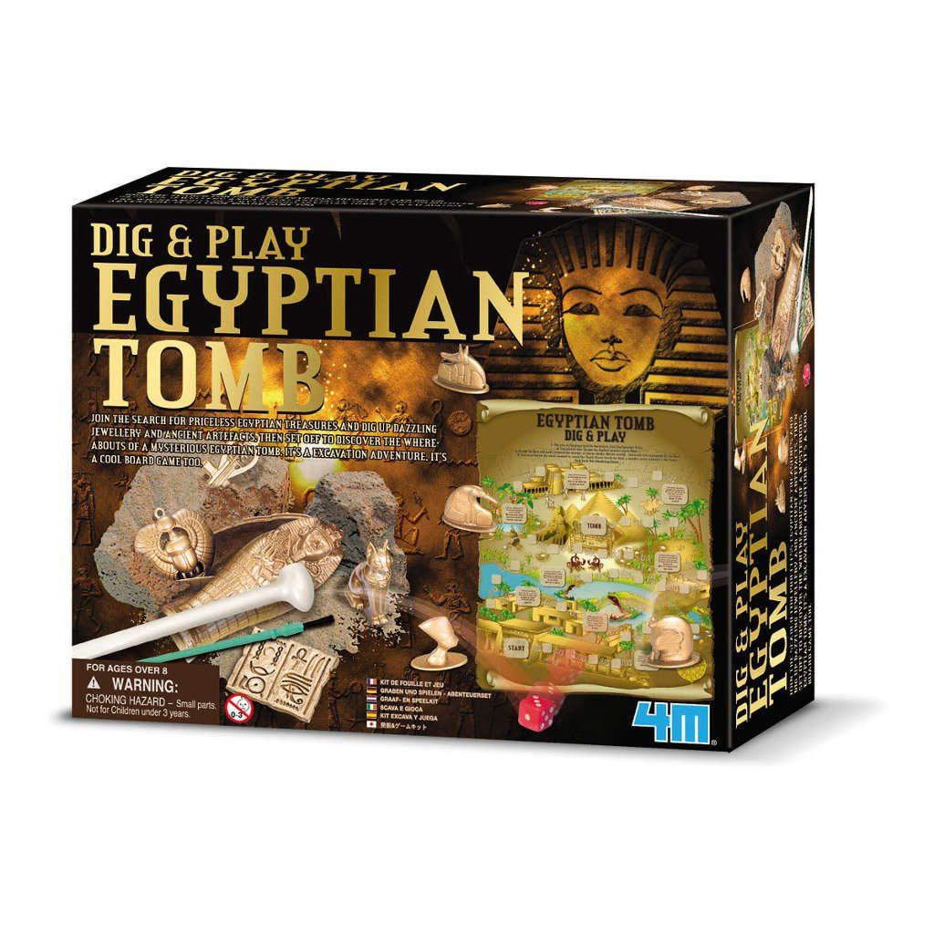 Schatten Opgraven Egypte Spel 4M