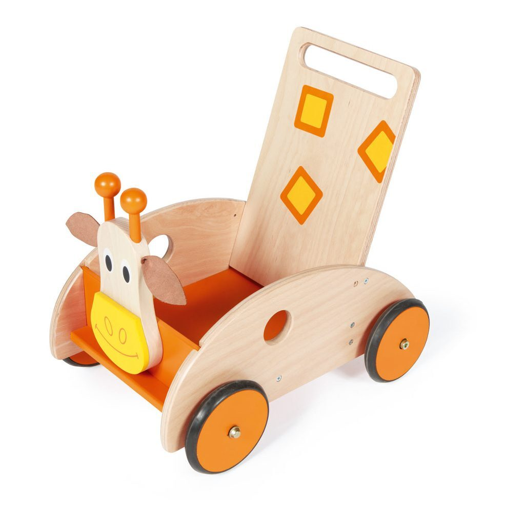 Scratch Loopwagen Giraffe