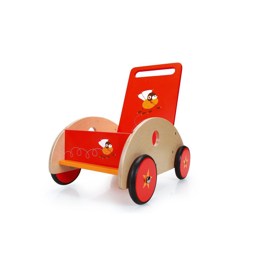 Scratch Loopwagen Racende Vlieg