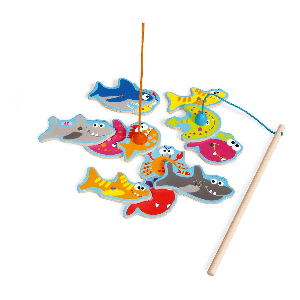 Scratch Visspel Gevaarlijke Vissen