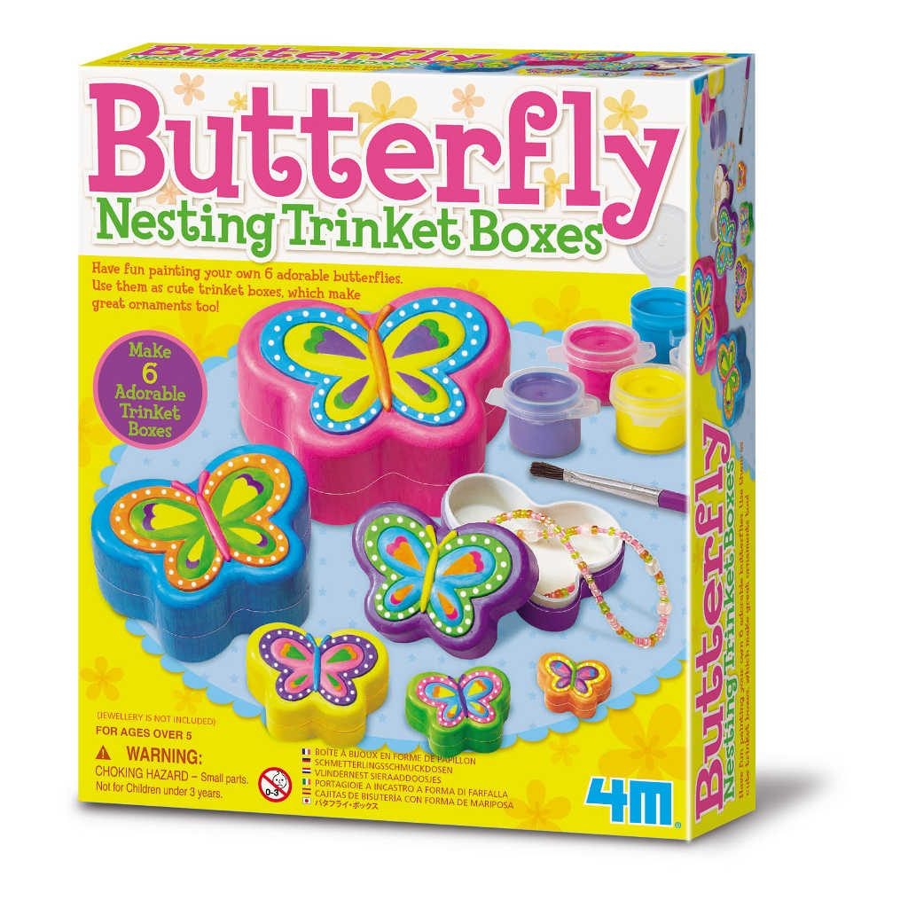 Sieradendoos Vlinder Maken