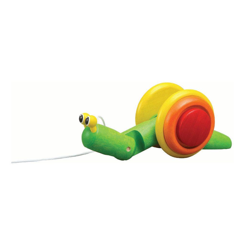 Slak Trekfiguur Plan Toys