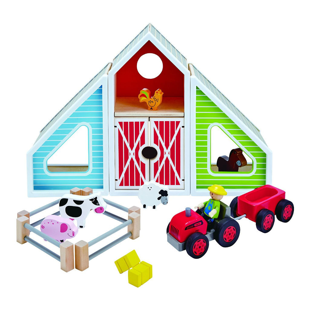 Speel Boerderijtje Hape Hape Speelgoed hape-e3015- 1024x1024 gnwtrmrk