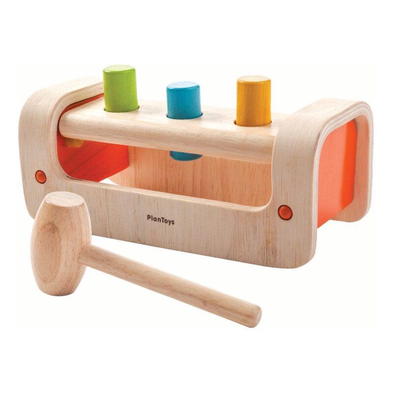 Spijkers Klopbank Plan Toys