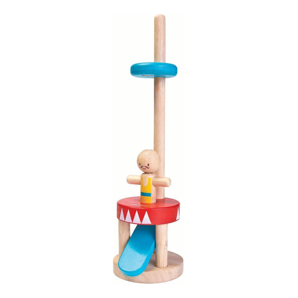 Springende Acrobaat Plan Toys