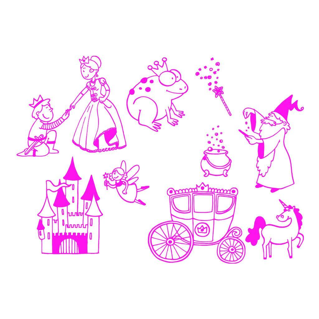 Sprookjes Stempels Aladine