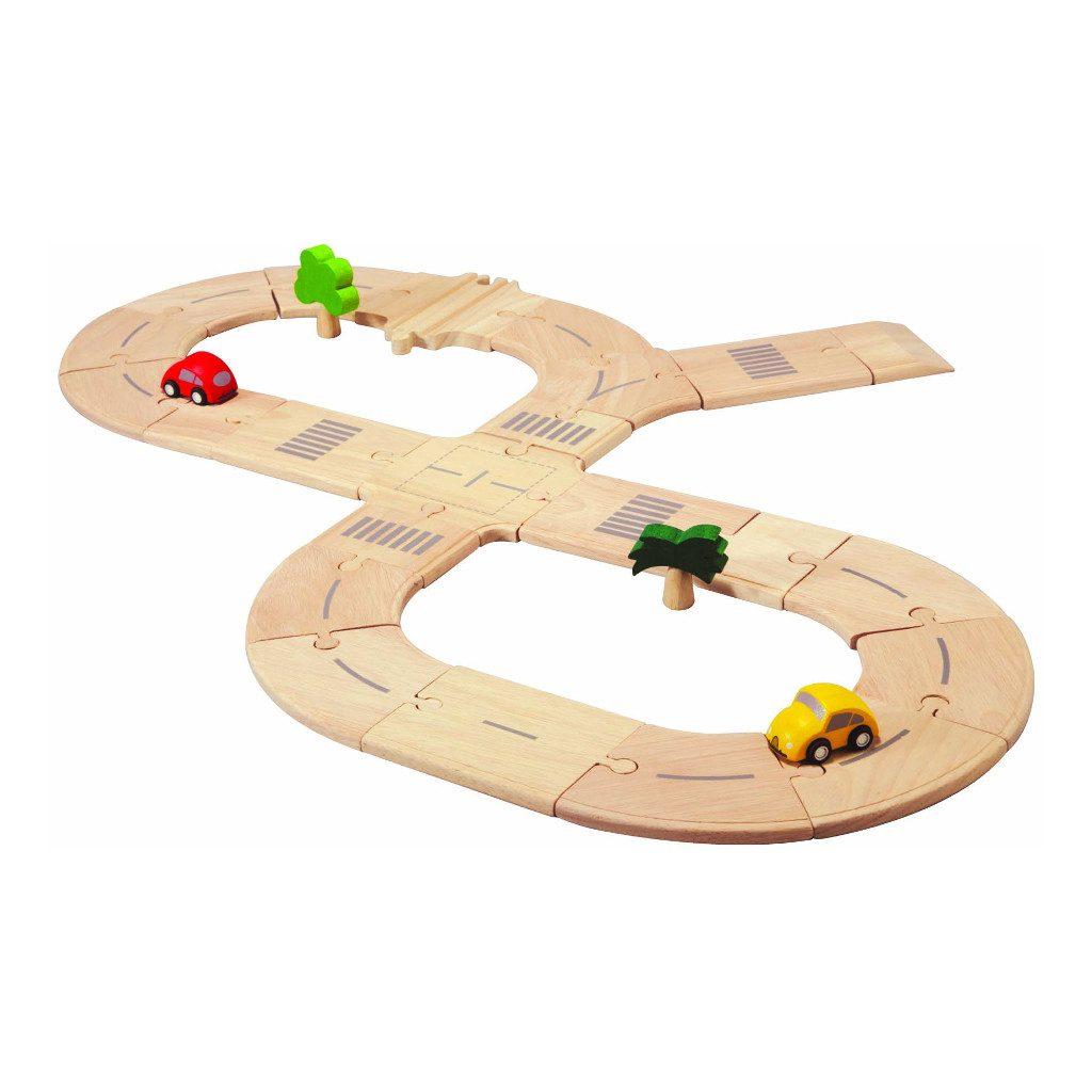 Standaard Wegsysteem Hout Plan Toys