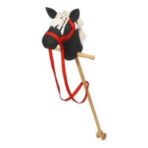 Stokpaardje Zwart