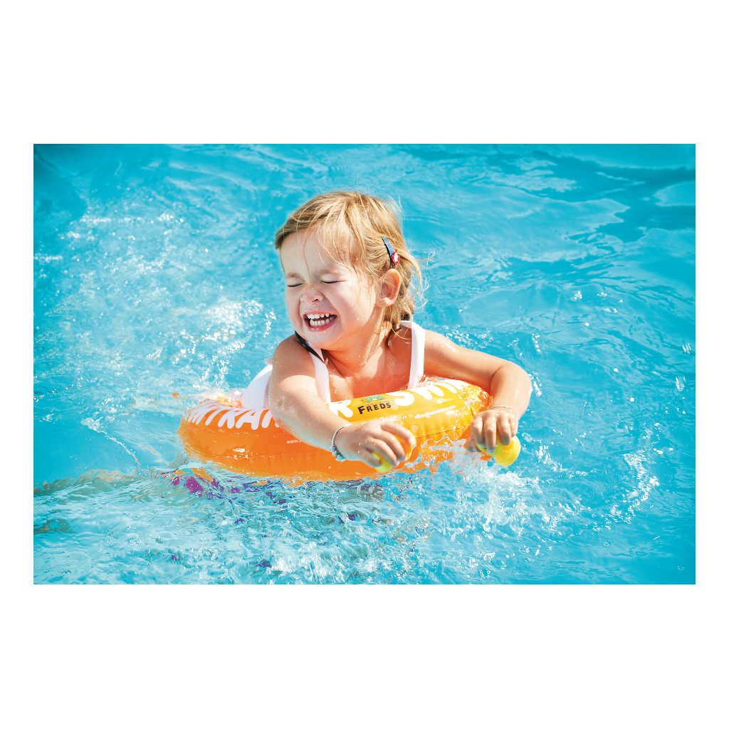 Swimtrainer Oranje