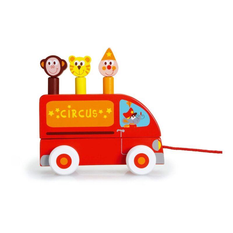 Trekfiguur Circus Figuurtjes