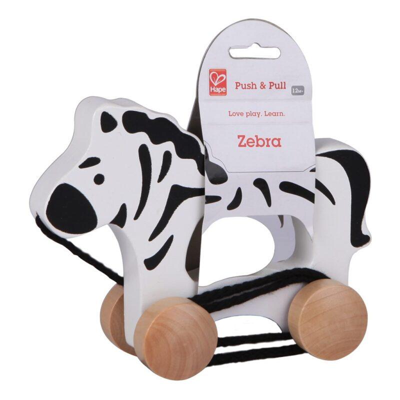 Trekfiguur Zebra Hape