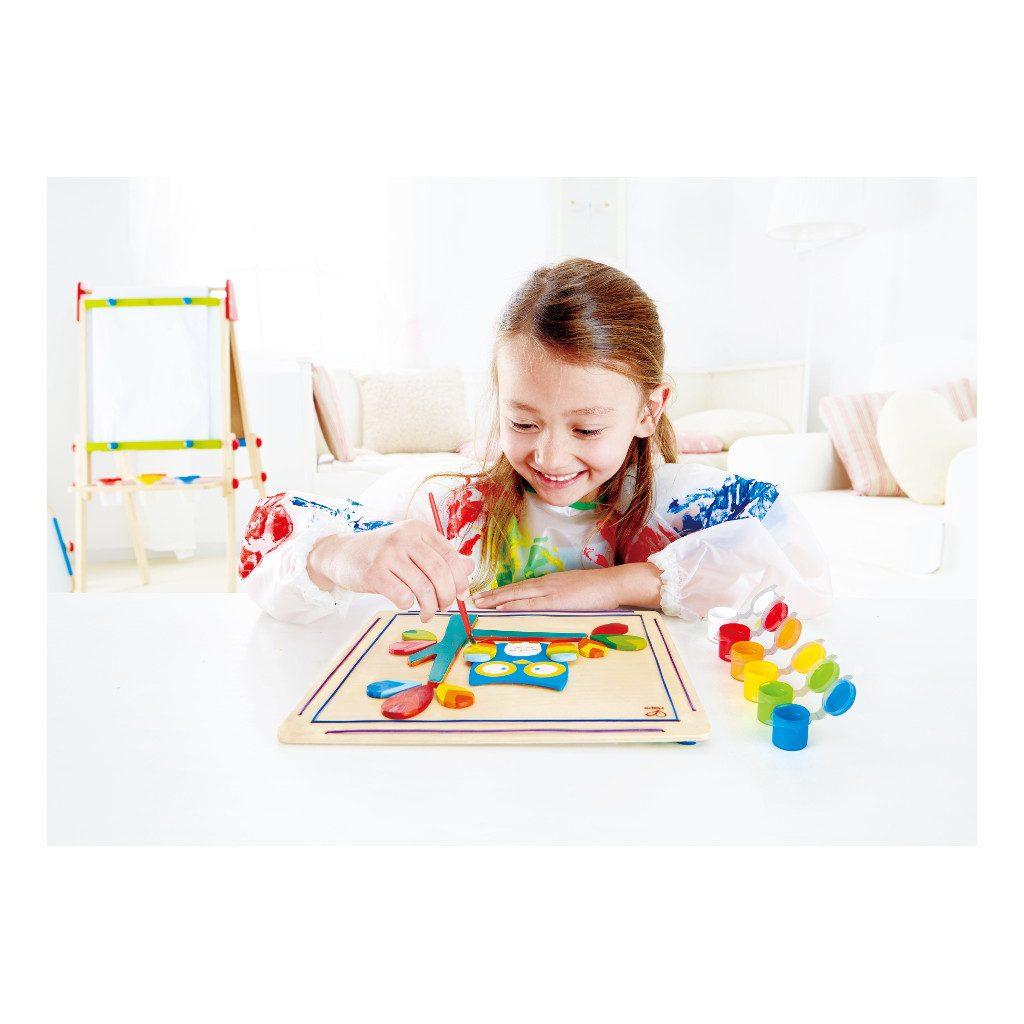Uil puzzel zelf verven kopen qiddie - Schilderen kind jongen ...