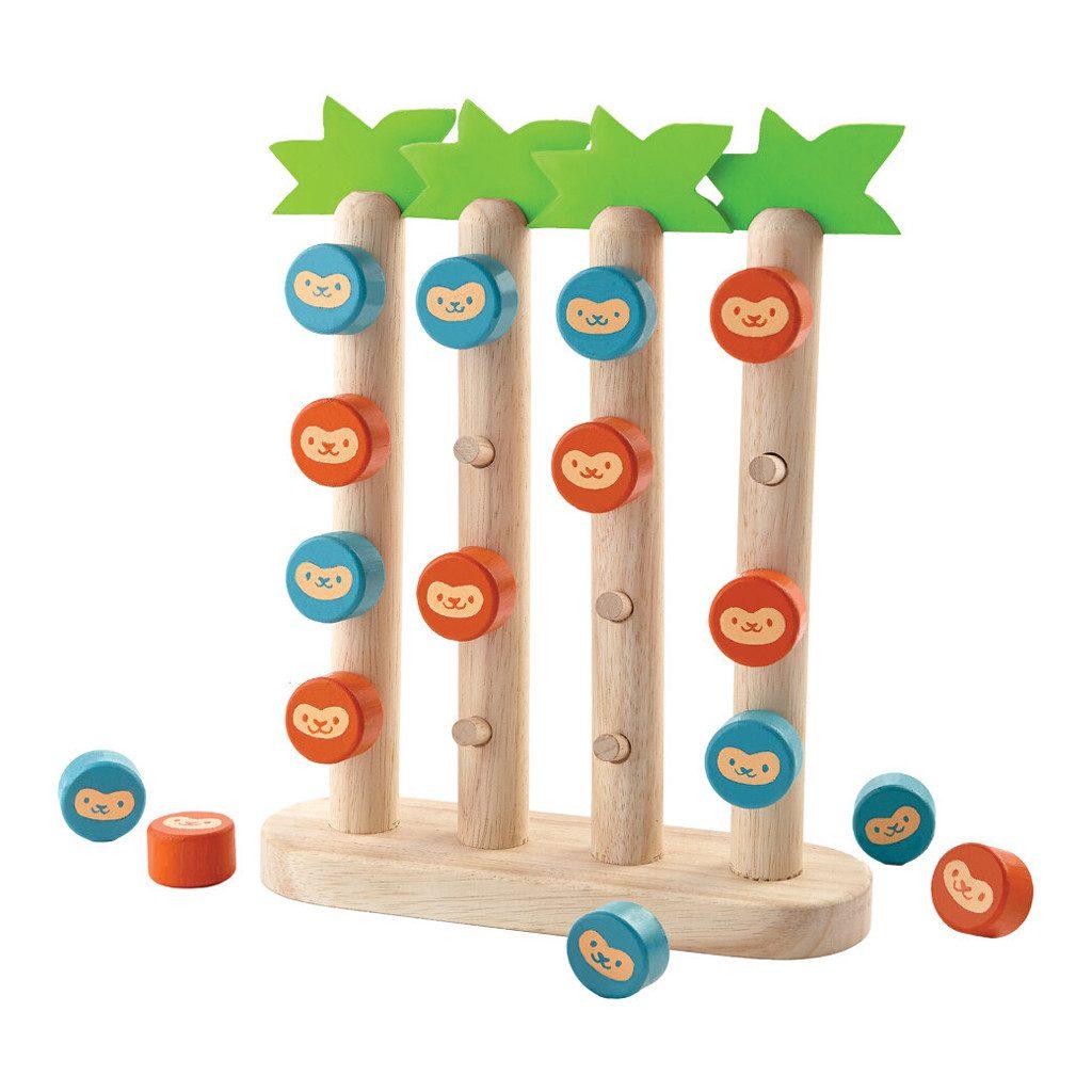 Vier Aapjes Op Een Rij Plan Toys