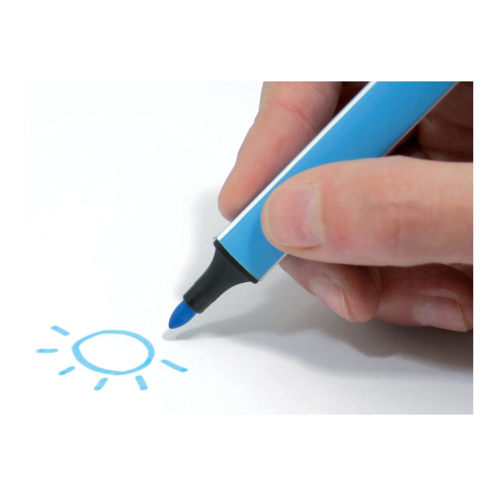 Viltstiften Ergonomisch