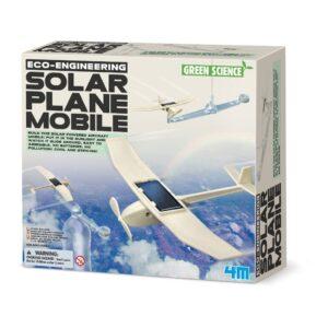 Vliegtuigje Op Zonne Energie