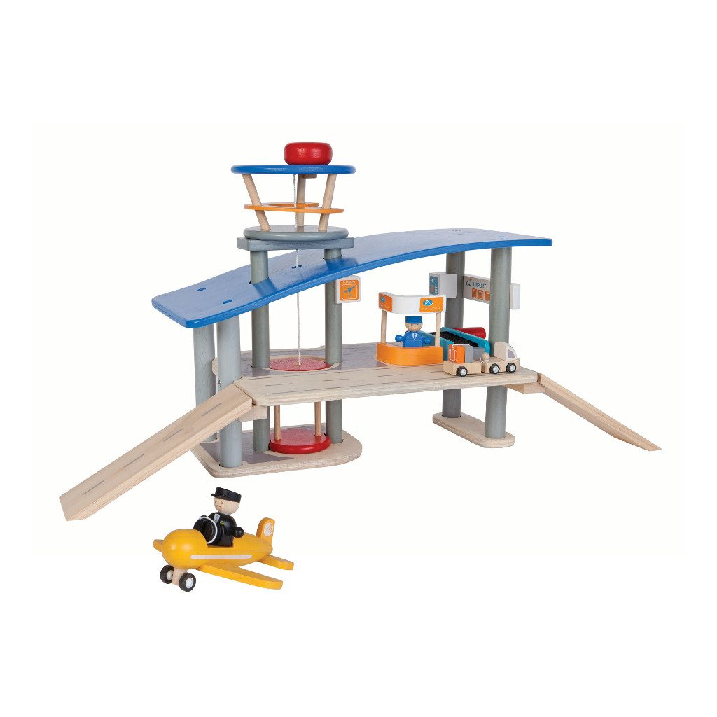 Vliegveld Plan Toys