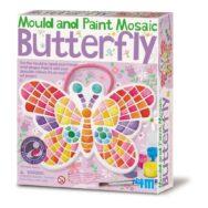 Vlinder Mozaiek Gips & Verven