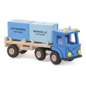 Vrachtwagen 2 Containers