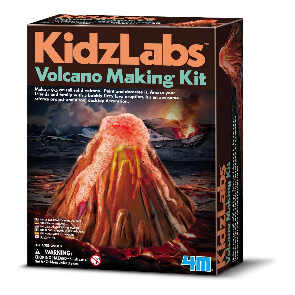 Vulkaanuitbarsting Maken