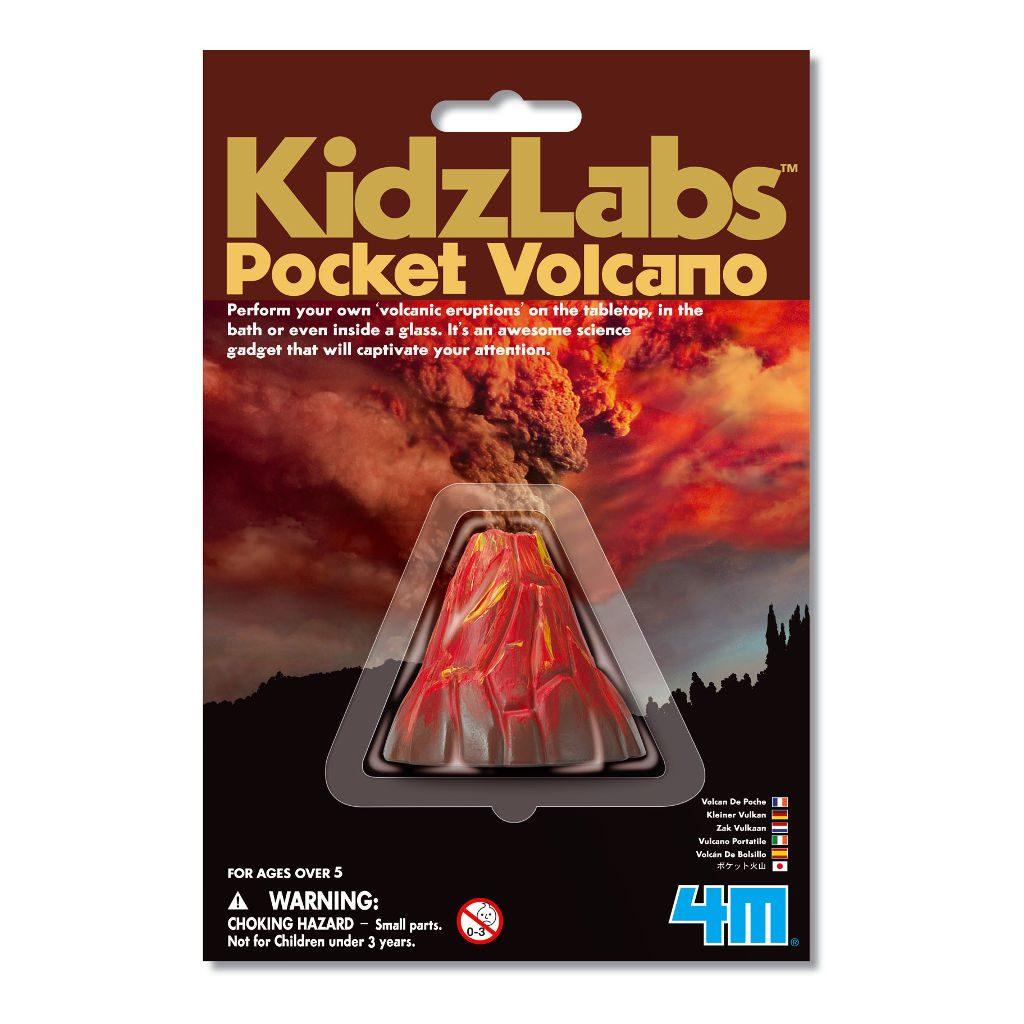Vulkaanuitbarsting Maken Klein