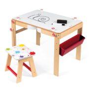 Bureau Schoolbord Splash 2-in-1 Janod White Board Tafel jano-11.9609