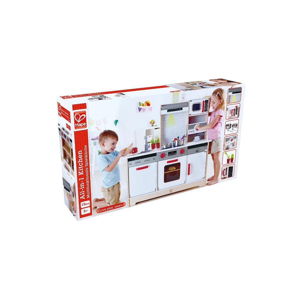 Alles-In-1 Keuken HapeDoos Verpakking Houten Complete hape-e3145