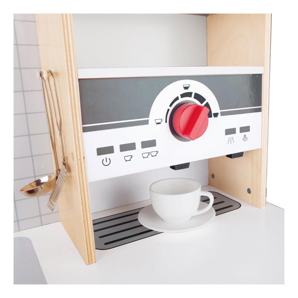 Alles-In-1 Keuken HapeKoffiezetter Geluid Complete Hout hape-e3145