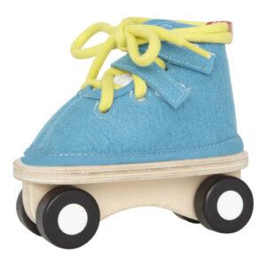 Blauwe Schaats Strikken Hape Speelgoed Hape-E1020