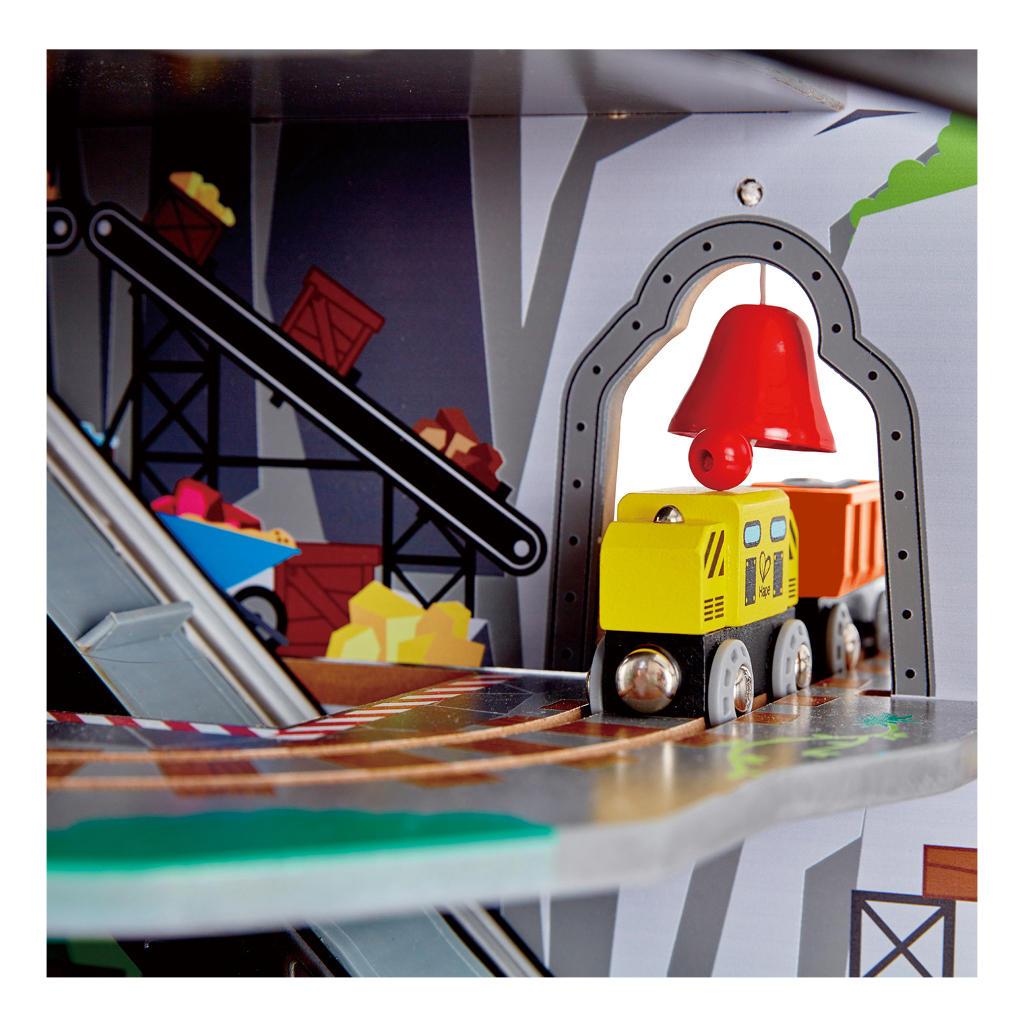 Grote Berg Mijnset Railway Hape Vele Mogelijjkheden Compleet hape-e3753