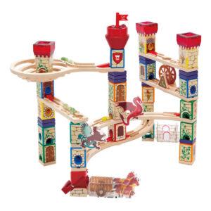 Middeleeuws Knikkerbaan Quadrilla Hape Speelgoed Hape-E6018
