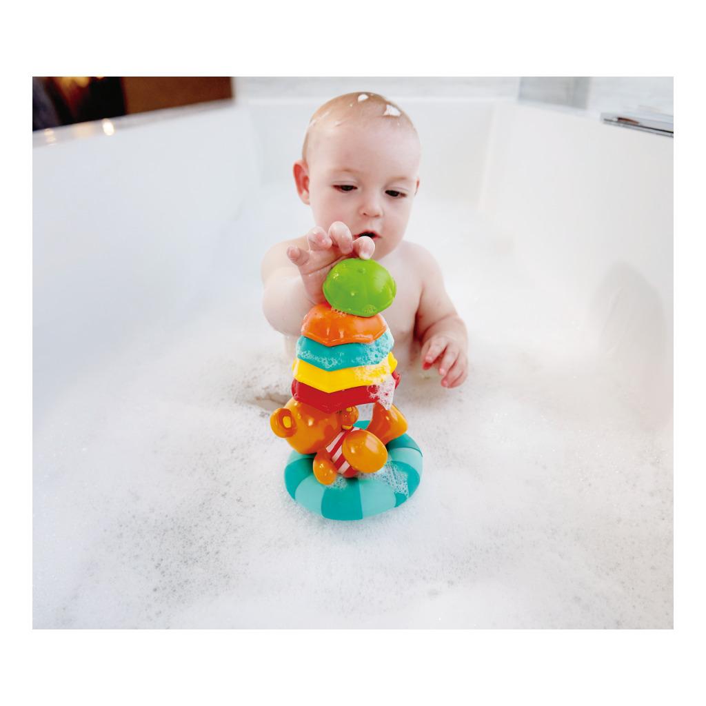 Paraplu Stapelen Teddy Plezier Kleine In Badje Hape Speelgoed Hape-E0203