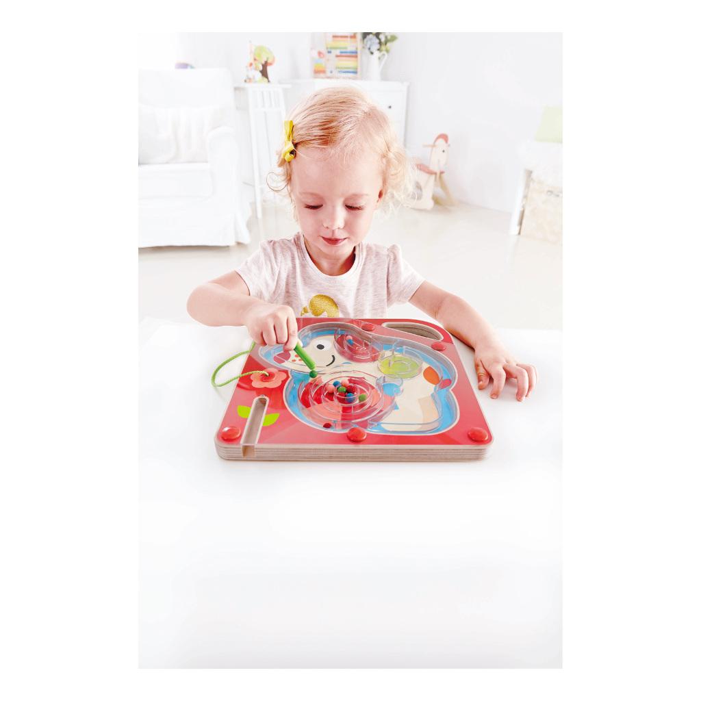 Pepe Doolhof Hape Speelgoed Magneet Puzzel Hape-E1711